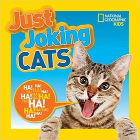 Kids will howl over Just Joking Cats, and we're not kitten!