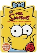 The Simpsons - The Complete Eighth Season (Collectible Maggie Head Pack)