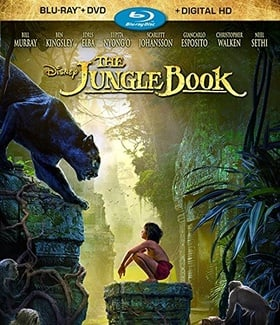 The Jungle Book (BD + DVD + Digital HD)