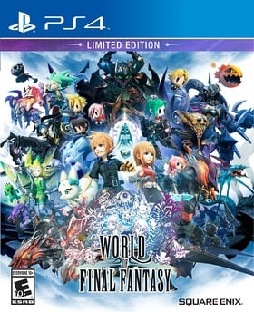 World of Final Fantasy Limited Edition - PlayStation 4