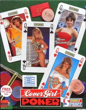 Cover Girls Strip Poker
