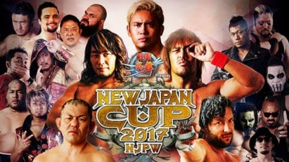 NJPW New Japan Cup 2017 - First Round, Day 2