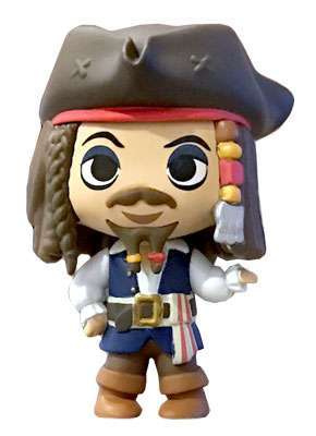 Pirates of the Caribbean Mystery Minis: Captain Jack Sparrow Disney Treasures Exclusive