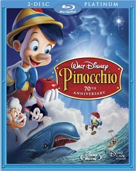 Pinocchio (Two-Disc Platinum Edition Blu-ray + Standard DVD)