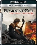 Resident Evil: The Final Chapter (4K Ultra HD + Blu-ray)