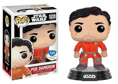 Funko Pop! Star Wars: Poe Dameron w/ Jumpsuit (FYE Exclusive)