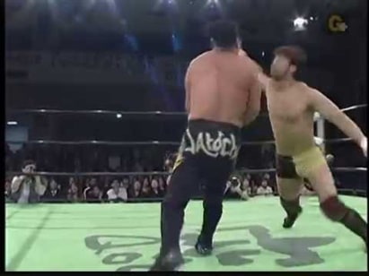 KENTA vs. Ricky Marvin (NOAH, 10/15/09)