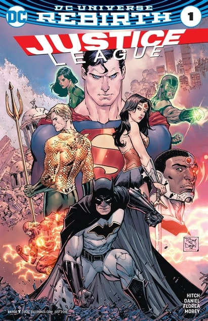 Justice League (2016) Rebirth ong