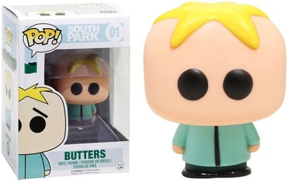 Funko POP Animation: South Park-Butters Action Figure