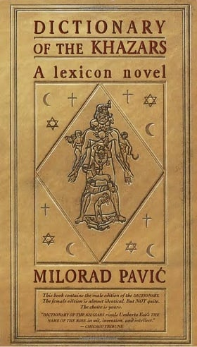 Dictionary of the Khazars: A Lexicon Novel in 100,000 Words (Male Edition)