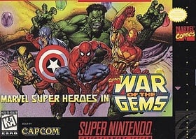 Marvel Super Heroes in War Gems