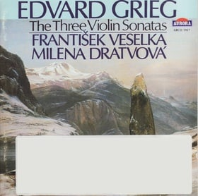 Grieg: The Three Violin Sonatas