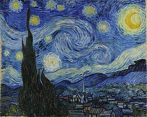 Vincent van Gogh: The Starry Night (1889)