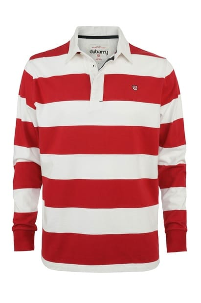 Red/White Rugby Shirt