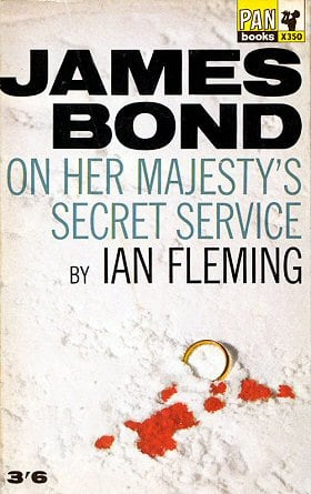 On Her Majesty's Secret Service (James Bond, Book 11)