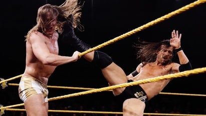 Adam Cole vs. Matt Riddle