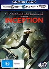 Inception- Combo Pack (2 Blu-ray / DVD) (BONUS Digital Copy)