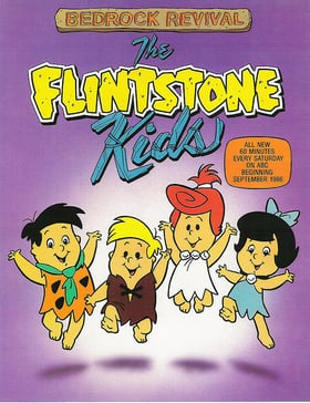 The Flintstone Kids                                  (1986-1990)