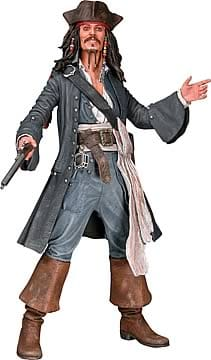 Pirates of the Caribbean: Captain Jack Sparrow Talking 18-inch Action Figure