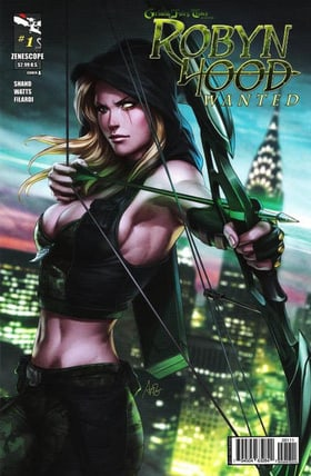 Grimm Fairy Tales Presents: Robyn Hood - Wanted