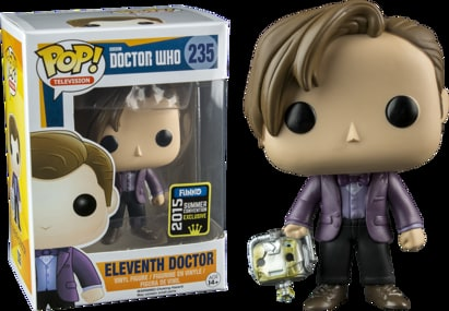 Doctor Who Pop!: Eleventh Doctor w/ Handles (SDCC Exclusive)